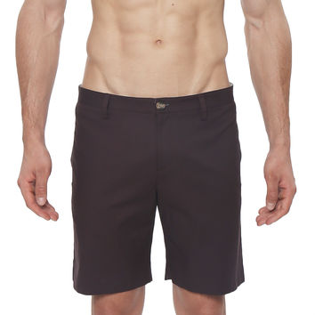 Solid Madrid Stretch Bermuda Short