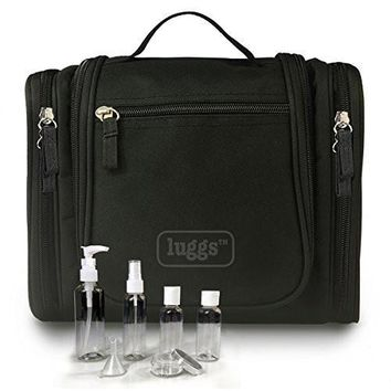 Hanging Travel Toiletry Bag, Travel Bottle Set