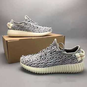 DCCKIJG Adidas X Yeezy 350 Boost Oxford Tan' Fashion Casual Coconut Unisex Sneakers Couple Ru