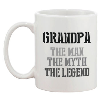 The Man Myth Legend Mug Cups for Grandpa X-mas Gifts ideas for Grandfather