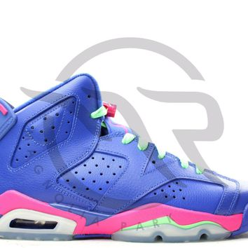 AIR JORDAN RETRO 6 (GS) - GAME ROYAL