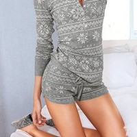 Victoria's Secret - The Fireside Thermal Shortie