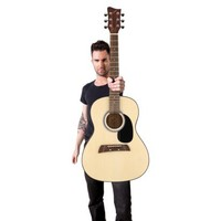 Adam Levine by First Act Acoustic Guitar Pack - Multicolored (AL363)