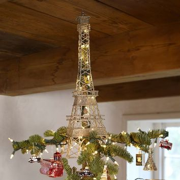 EIFFEL TOWER TREE TOPPER