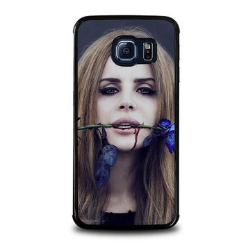 lana del rey samsung galaxy s6 edge case cover  number 1