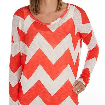 Daytrip Chevron Top - Women's Shirts/Tops | Buckle