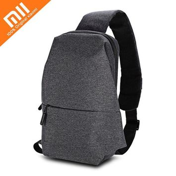 Sports gym bag Original Xiaomi Mi Backpack 4L Polyester Bag Urban Leisure Sports Chest Pack Bags Men Women Small Size Shoulder Unisex Rucksack KO_5_1