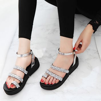 Women Gladiator  Roman Sandals Summer Shoes