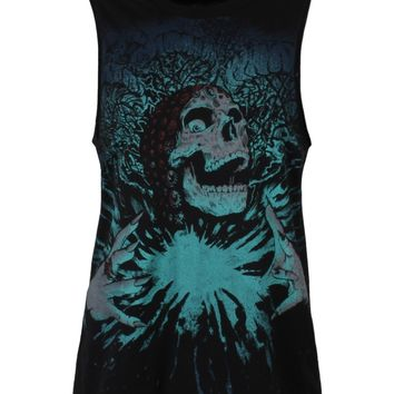 Iron Fist Gypsy Curse Ladies Muscle Tank