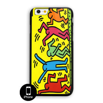 Keith Haring Pop Art iPhone 6 Plus Case