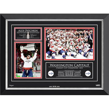 ALEXANDER OVECHKIN & THE WASHINGTON CAPITALS STANLEY CUP CHAMPS, LTD ED /88
