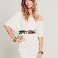Free People Womens Marigold Waist Belt - Brown, M/L