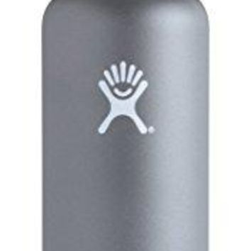 Double Wall Vacuum Insulated Stainless Steel Leak Proof Sports Water Bottle, Standard Mouth with BPA Free Flex Cap