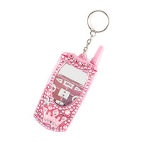 Bling Crown Lip-gloss Cell Phone Keychain