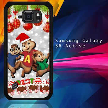 Alvin And The Chipmunks And The Chipettes D0268 Samsung Galaxy S6 Active  Case