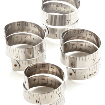 Exception to the Ruler Napkin Rings
