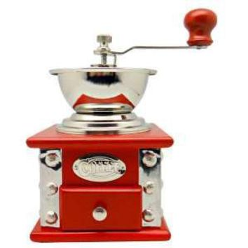 Red Coffe Grinder - Anvil Home