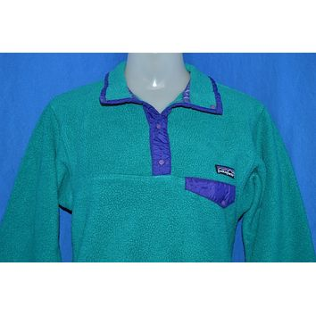 90s Patagonia Fleece Pullover Jacket Youth 10