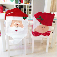 Christmas hat sets the table coverings holiday gift items table decoration