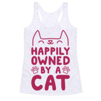 HAPPILY OWNED BY A CAT