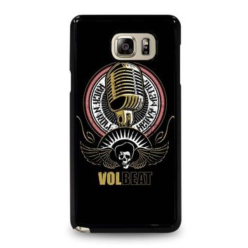 VOLBEAT HEAVY METAL Samsung Galaxy Note 5 Case Cover