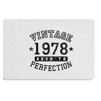 40th Birthday Vintage Birth Year 1978 Placemat by TooLoud
