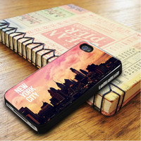 Sunset In New York City iPhone 5 | iPhone 5S Case