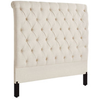 Audrey Queen Headboard - Flax
