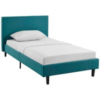 Anya Twin Bed, Teal -Modway
