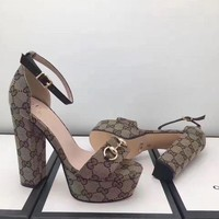 DCCKNY6 GUCCI:Fashion princess high heels