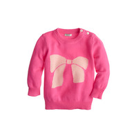 crewcuts Cashmere Baby Sweater In Big Bow