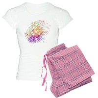 Colorful Fireworks - Patriotic Celebration Pajamas> PJ Sets> Girl Tease