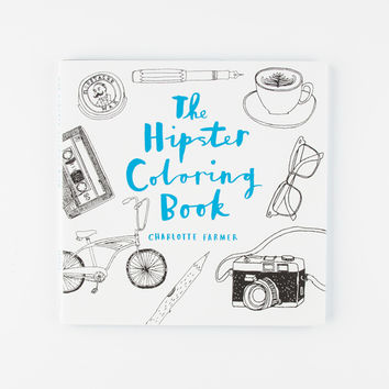 The Hipster Coloring Book White Combo One Size For Women 27511916701