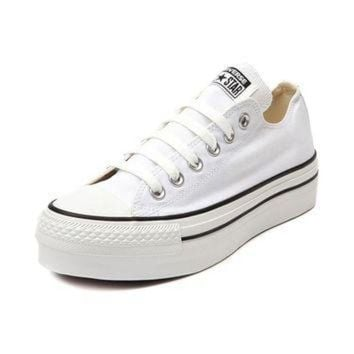 LM0FN Womens Converse All Star Lo Platform Sneaker