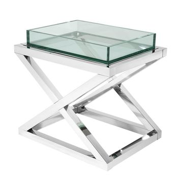 Glass Side Table | Eichholtz Curtis