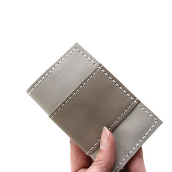 Leather Business Card Holder - Handmade Gift Card Holder - Calling Card Case - Business Card Case - Credit Card Case -Credit card Organizer