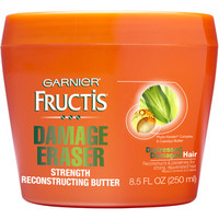 Walmart: Garnier Fructis Damage Eraser Strength Reconstructing Butter Hair Mask, 8.5 fl oz