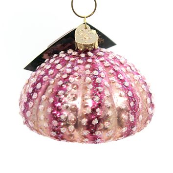 Old World Christmas Sea Urchin Glass Ornament