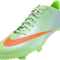 Nike Mercurial Veloce FG Soccer Cleats - Neo Lime with Polarized Blue - SoccerPro.com