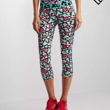 LLD Puzzle Cropped Leggings