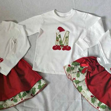 Bother and sister. Siblings matching, Christmas toddler dress, brother and sister outfit, family matching
