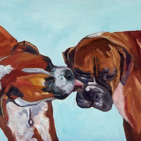 Boxer Dog Fine Art Print