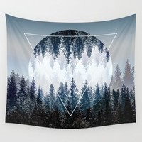 Moon & Forest Tapestry