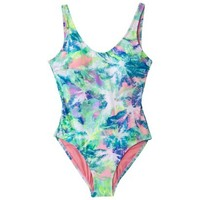 Xhilaration® Junior's 1-Piece Swimsuit -Assorted Colors