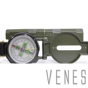 Photo studio kit , Metal Sighting Compass clinometer Camping , Multi - functional outdoor magnetic compass