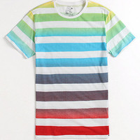 On The Byas Nash Ombre Stripe Crew Tee at PacSun.com