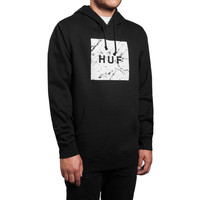 HUF - MARBLE BOX LOGO PULLOVER // BLACK