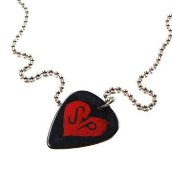 Simple Plan - Logo Guitar Pick Necklace by Simple Plan
