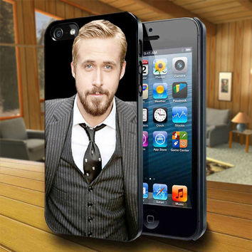 Ryan Gosling - Print on Hard Cover For iPhone 4/4S and iPhone 5 Case - Please Leave Message For Device And Colour Case