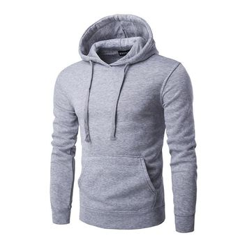 Hoodies Winter Men Strong Character Pullover Hats With Pocket Men's Fashion Jacket [10669394243]